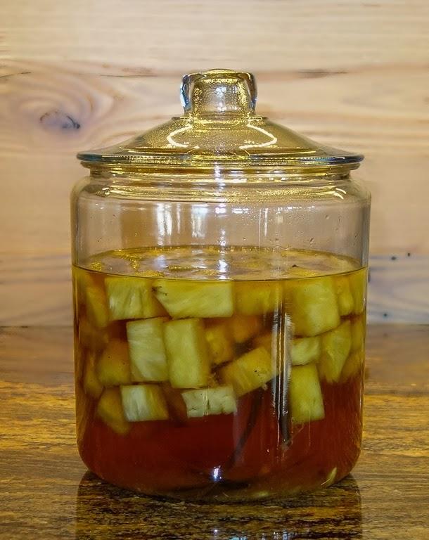 Pineapple and Vanilla Infused Tequila - Consumatorium