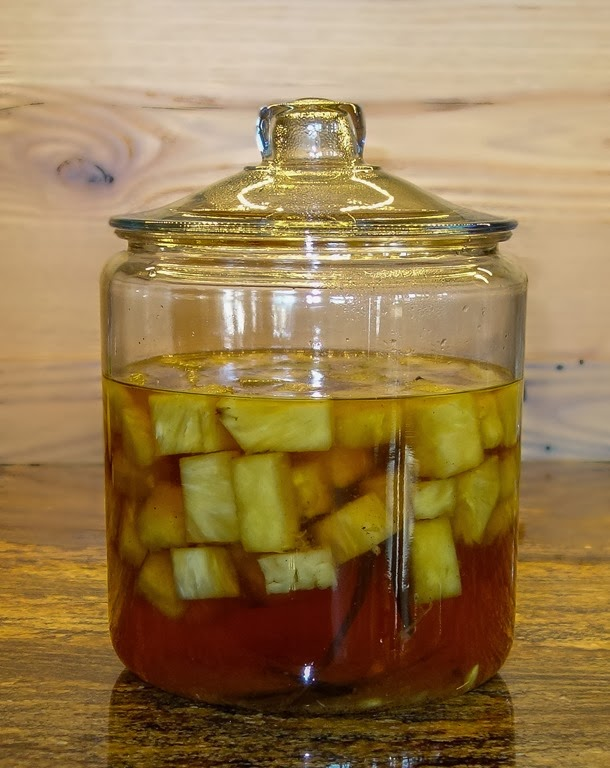 Pineapple Tequila Infusion - 2013-10-08-21