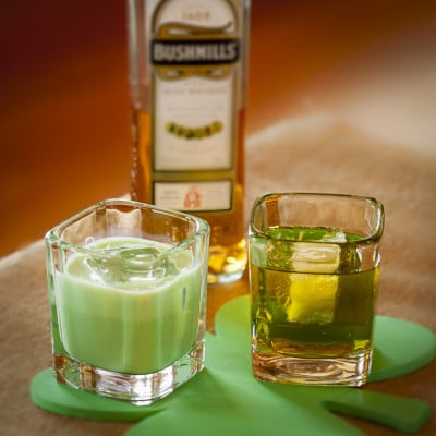 St Patricks Day Green  Drinks