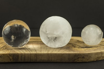 ice spheres for drinks