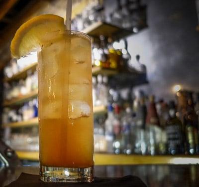 Barrel-Aged Long Island Iced Tea - State Street Eatery, Sarasota