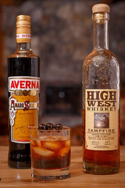 High West Campfire Cocktail