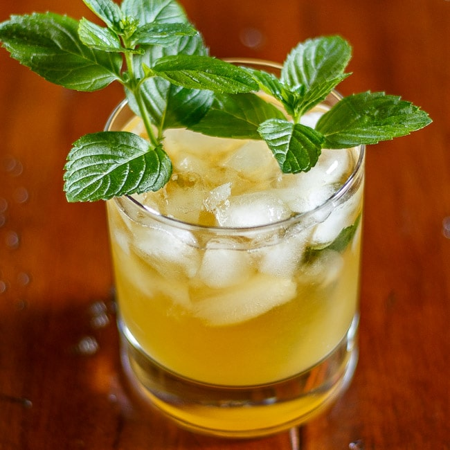 Pineapple Mint Julep