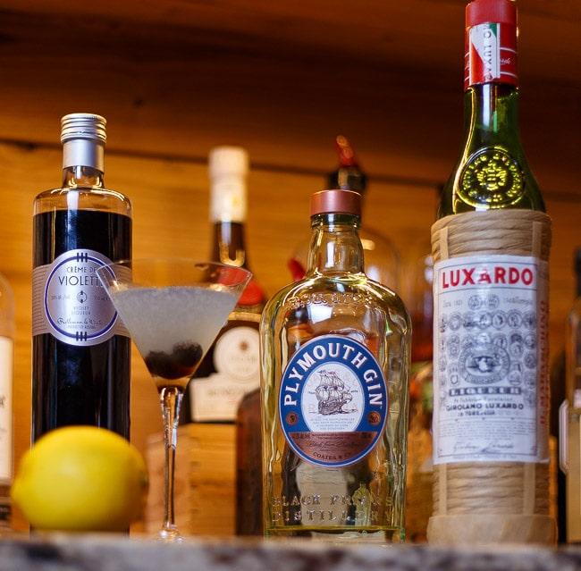 Aviation Cocktail Ingredients