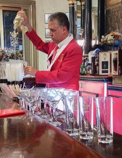 Floridita Bartender - Cuban Cocktails