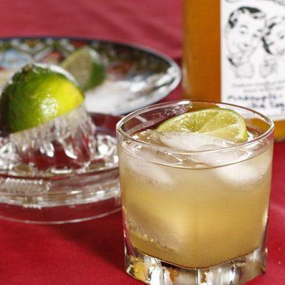 Pineapple-Vanilla Margarita