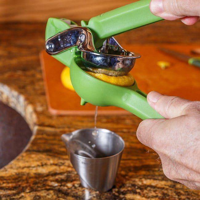 Fruit Juicer in Action