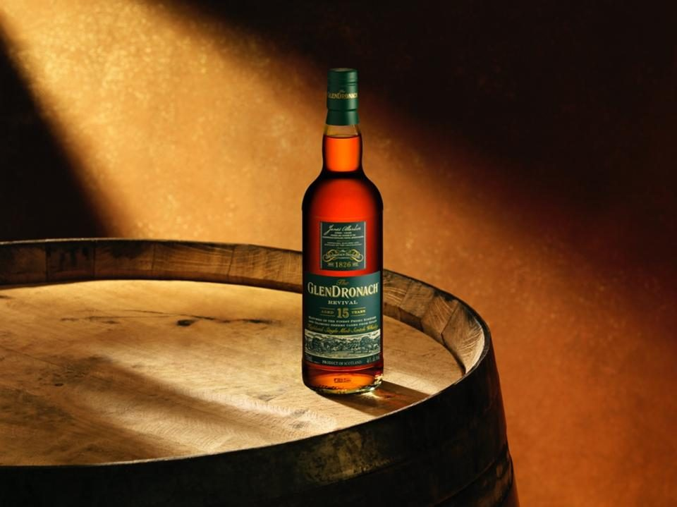 GlenDronach Scotch Whiskey